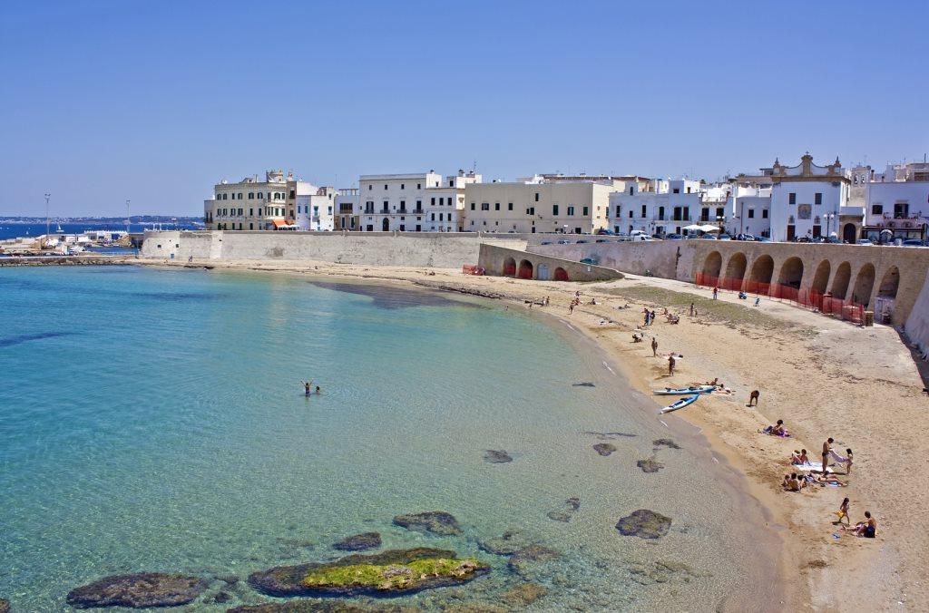 Le spiagge e la costa di gallipoli - Santa maria al bagno spiagge ...